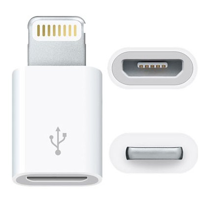 Lightning 8Pin to Micro USB Adapter