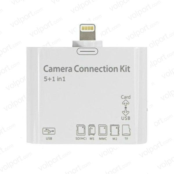 5 in 1 Camera Connection kit  Card Reader for iPad 4 iPad Mini